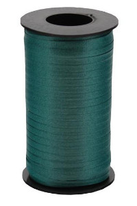 Balloon Curling Ribbon Forest Green
