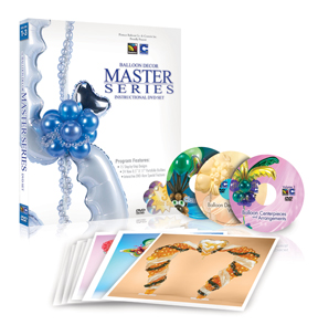 Conwin Balloon Decor Master Series DVD Set