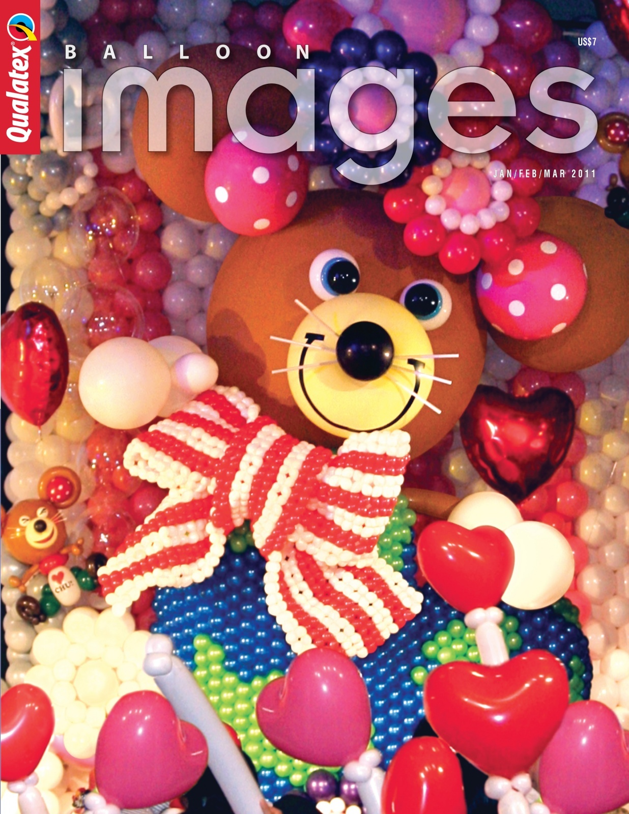 Balloon decoration training materials for Balloon decoration course