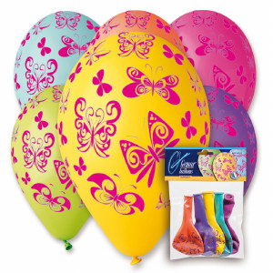 Butterfly Printed Balloons