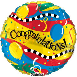 Congratulations Foil Balloon qualatex