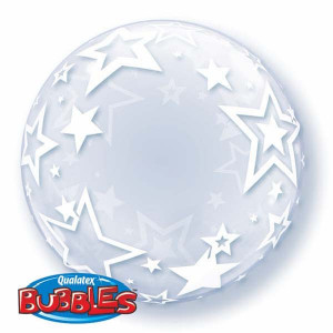"Deco Bubble 24"" Stylish Stars"