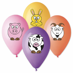 Farm Friends theme Balloons