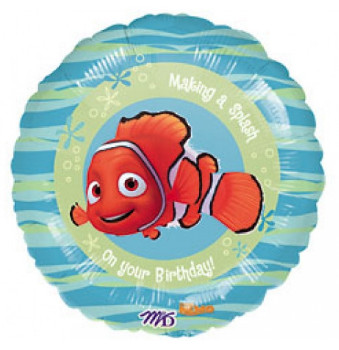 finding nemo birthday foil balloon from anagram
