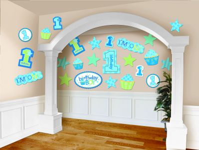 First Birthday Boy Cutouts Mega Value Pack