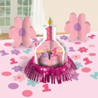 1 st Birthday Girl Table Decorating Kit