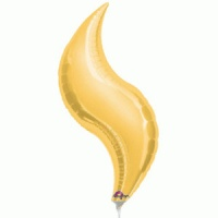 anagram foil balloon curves for decorators gold