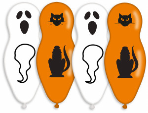 Halloween Theme party balloons x 4 pieces