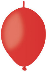 Link Balloons Pastel Red 6