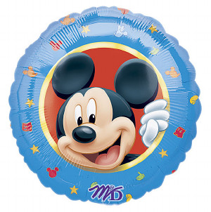 mickey mouse birthday foil balloon from anagram