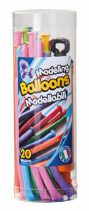 Modelling balloons with pump x 20 pieces