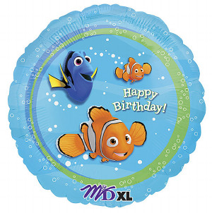 Finding Nemo Happy Birthday Foil Balloon from anagram