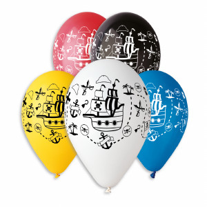 Pirate Ship Theme Balloons