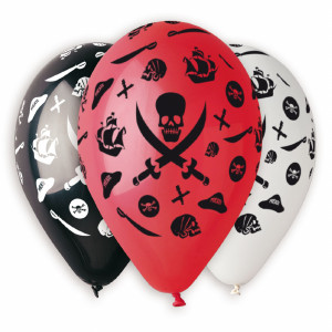Pirates Printed Balloons