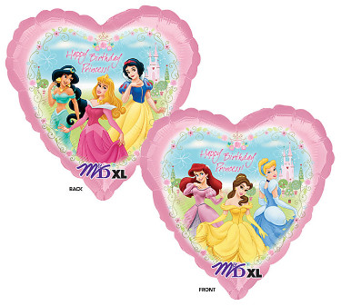 disney princess birthday foil balloon from anagram