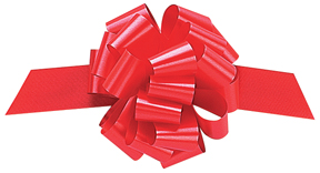 1 x 50mm Pull Bow Red