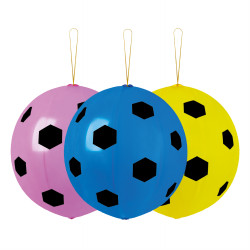 Punchball Balloons football print x 3 pieces