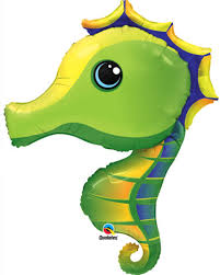 Sea Horse Super Shape Foil Balloon(1)