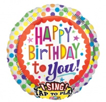 Sing a Tune 'Happy Birthday to you' Jumbo Foil Balloon ( 1 piece)