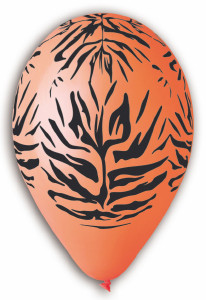 Tiger Stripes Balloons