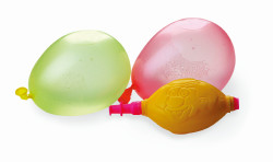 Water balloons with pump x 50 pieces